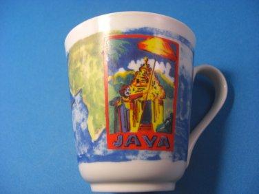 Java Ceramic Mug Chaleur Design for Diedrich Coffee