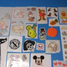 Vending Machine Sticker Sheets Lot
