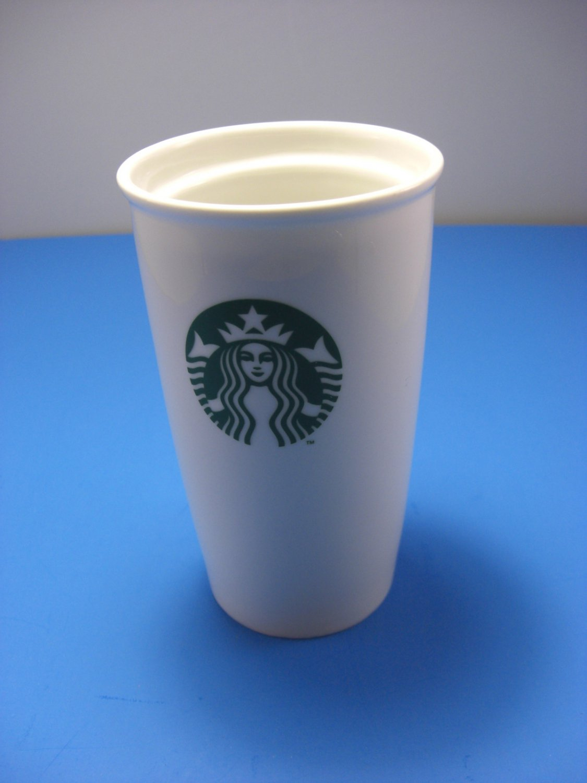 Starbucks No Spill Travel Mug