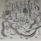 Signed & Titled Jeff Gold Art Print 1979 Finger Pickin' Good