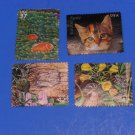 Great Lakes, Dunes, Fish and Cat 37 & 42 Cents US Stamps