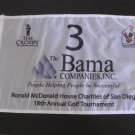 The Bama Companies The Crosby & Ronald McDonald House Golf Pin Flag