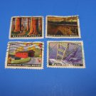 U S Stamps Used American Landmark Arlington Green Bridge (Off Paper)