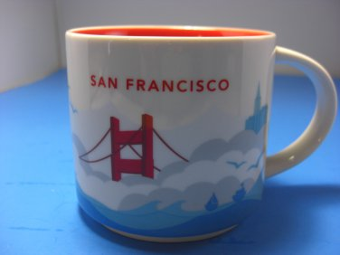 San Francisco NEW Starbucks Coffee Stackable Mug 14oz You Are Here Collection 2015