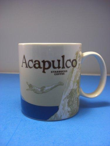 Starbucks Coffee Acapulco Global Icon Collector Series Mug 16 OZ