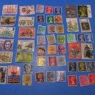 50 Used British Postage Stamps Lot UK
