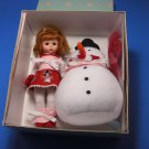 Madame Alexander Doll Wendy Builds a Snowman 8""