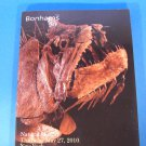 Bonhams & Butterfield Auctoneers Natural History Meteorites Fossils Jewelry Buyers Catalogue