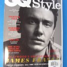 GQ Style JAMES FRANCO Cover (U.K) 2011 Spring /Summer