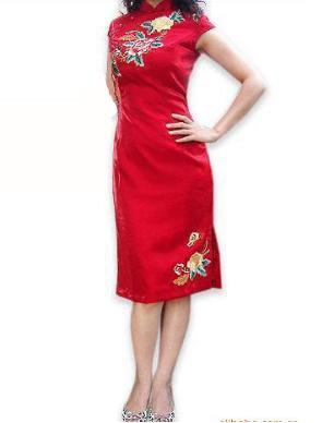 Sleeve Long Cheongsam  WSS-23