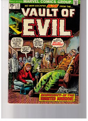"Marvel Comics WHERE MONSTERS DWELL ""TRAGG!""  No 33 1974"