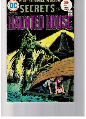 DC Super Stars Comics  Secrets of Haunted House Vol. 1 No 1 1975
