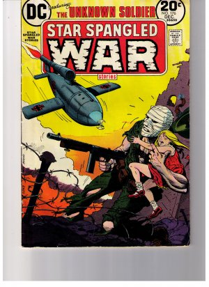 DC  Comics Unknown Soldier STAR SPANGLED WAR STORIES No 176 Dec.1973