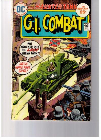 DC Comics G.I. COMBAT Featuring THE HAUNTED TANK No 176 Mar 1975