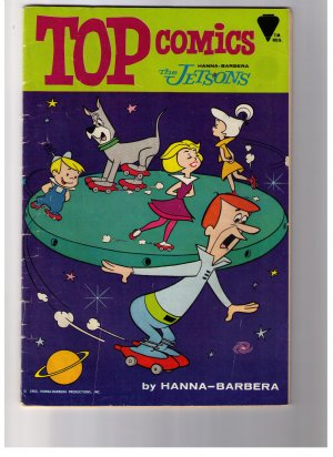 Hanna- Barbera Top Comics THE JETSONS No 1 1967  VF+ ?