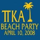 Beach Party 2008 Shirt [Medium]