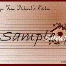 Bird House Recipe Card 2954