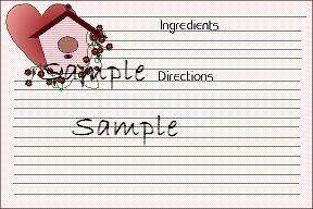Birdhouse And Heart 4496