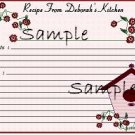 Birdhouse With Roses 9984
