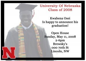 Graduation Invitations or Announcements