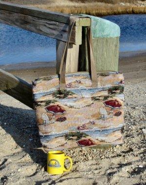 Tapestry Beach Tote Bag