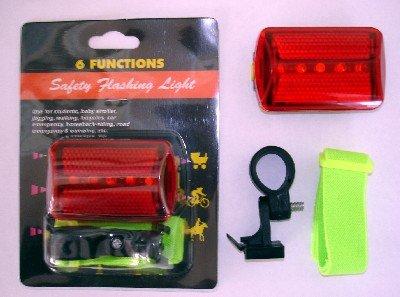 5 LED SAFETY FLASHER BABY STROLLER LIGHT WALK RUN JOG