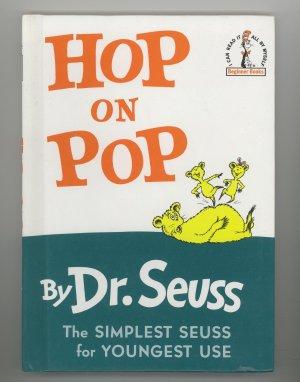 Dr. Seus Hop on Pop Begginner book 1963