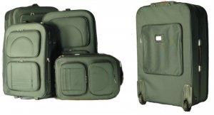 4 Piece Luggage Suitcase Set