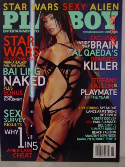 June 2005 Playboy Magazine Star Wars Bai Ling Nude!!