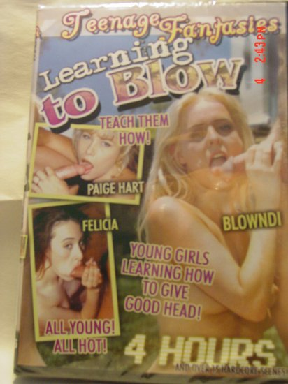 Teenage Fantasies Learning To Blow 4 Hour DVD - AS LOW AS $2.33 EACH!!!