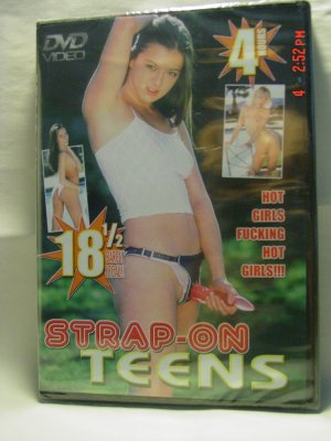Strap-On Teens 4 Hour DVD - PRICE REDUCED!!
