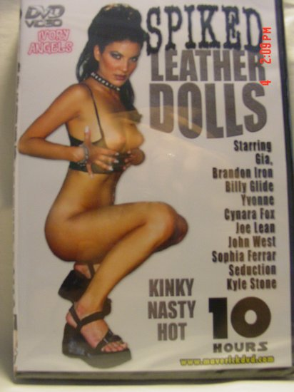 Ivory Angels Spiked Leather Dolls 10 Hour DVD - AS LOW AS $2.33 EACH!!!