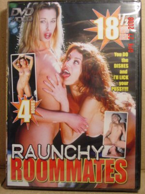 Raunchy Roomates 4 Hour DVD - AS LOW AS $2.33 EACH!!!