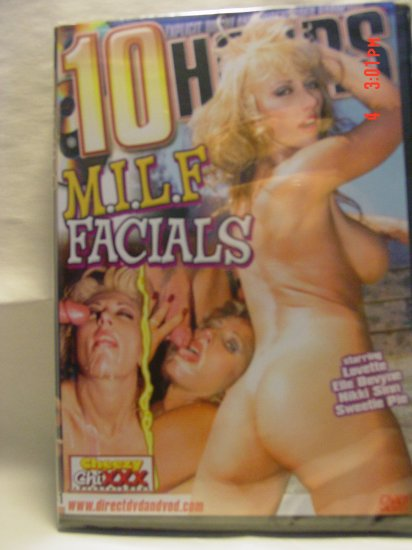 M.I.L.F. Facials 10 Hour DVD - PRICE REDUCED!!
