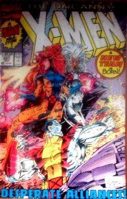 Uncanny X-Men #281 Desperate Alliances