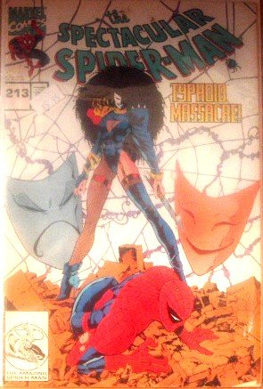 Spectacular Spiderman #213 Typhoid Masacre