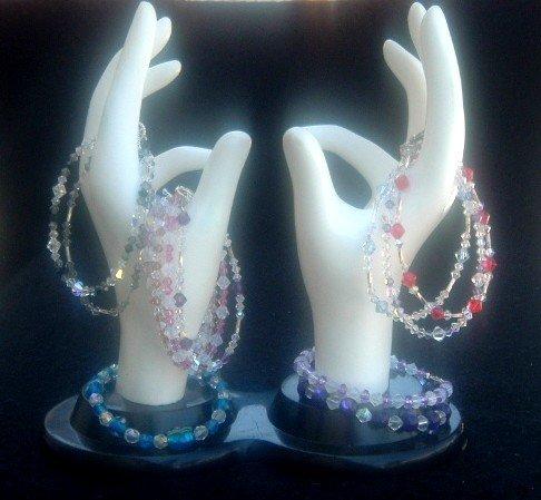 Pink Swarvski Crystal Bracelet