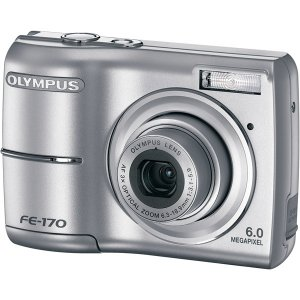 """Olympus 6.0 M CCD Camera w/ 3x Optical Zoom and 2.5"""" TFT LCD"""