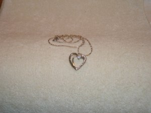 Anklet w/ crystals
