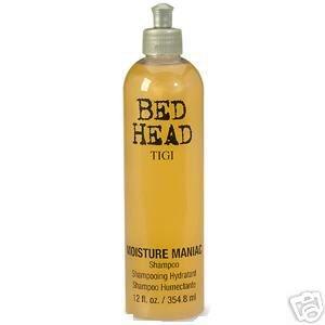Tigi Bedhead Moisture Maniac shampoo 12 oz