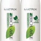Matrix (B) Biolage Scalp Cool Mint Shampoo 33.8 oz (x2)
