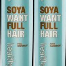 Sexy Hair HEALTHY SEXY Soya Want Full Spray 9.1 oz (x2)