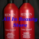 Redken (CE) Color Extend Shampoo & Conditioner 33.8 oz