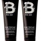 TIGI (BH) Bed Head For Men Pure Texture Paste 3 oz X2
