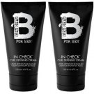 TIGI (BH) Bed Head For Men In Check Curl Cream 5 oz X2