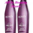 Redken (RC) Real Control Shampoo 10.1 oz (x2)