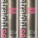 Sexy Hair STRAIGHT SEXY Smooth And Seal Spray 8.1 oz X2