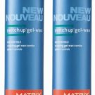 Matrix (M) Mens Switch Up Gel-Wax 3.4 oz (x2)