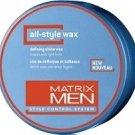 Matrix (M) Mens All Style Wax Defining Shine Wax 1.7 oz
