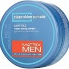 Matrix (M) Mens Clean Shine Pomade 1.7 oz